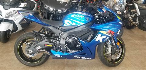 2015 Suzuki GSX-R600 in Mineola, New York