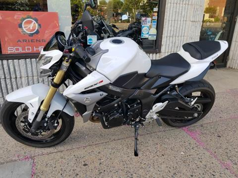 2016 Suzuki GSX-S750 in Mineola, New York