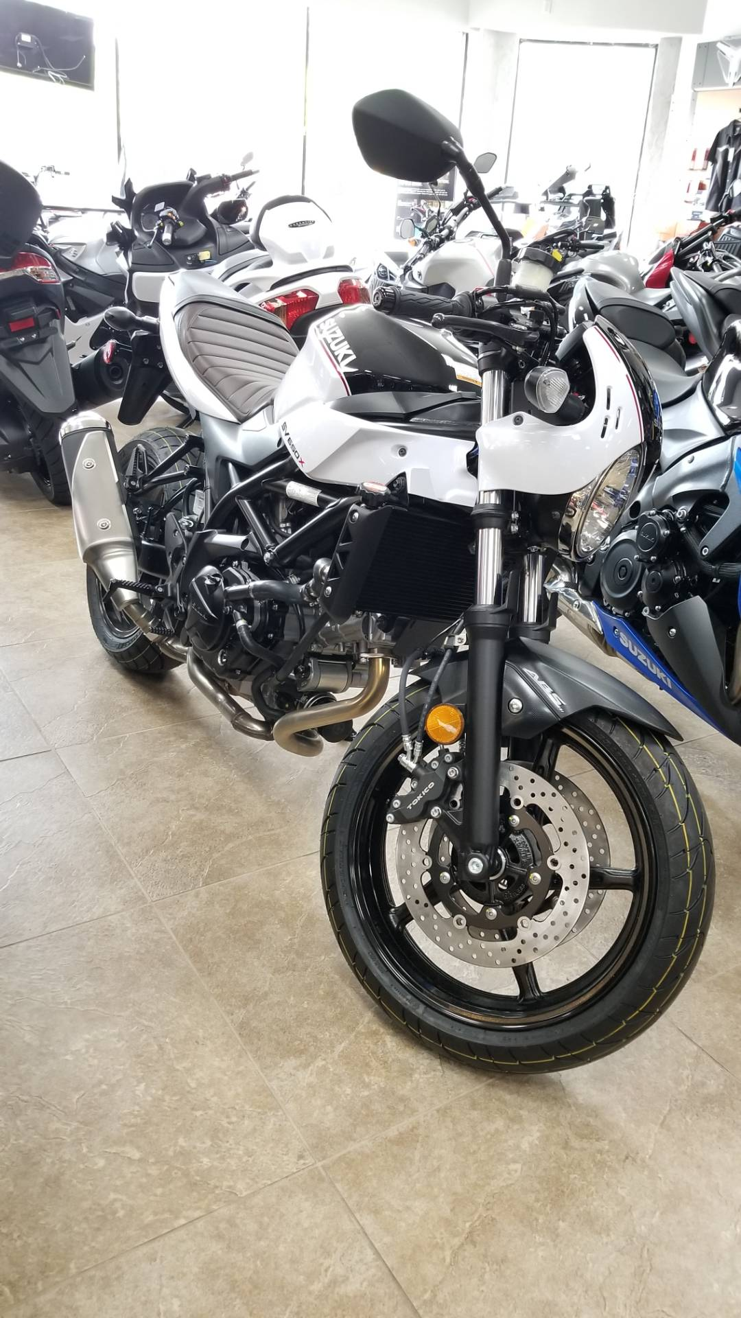 2019 Suzuki SV650X in Mineola, New York - Photo 1