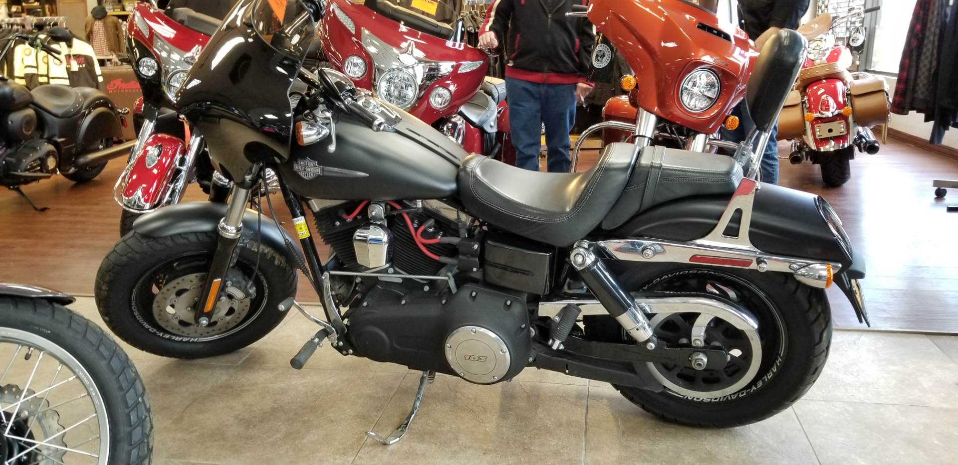 2014 Harley-Davidson Dyna® Fat Bob® in Mineola, New York