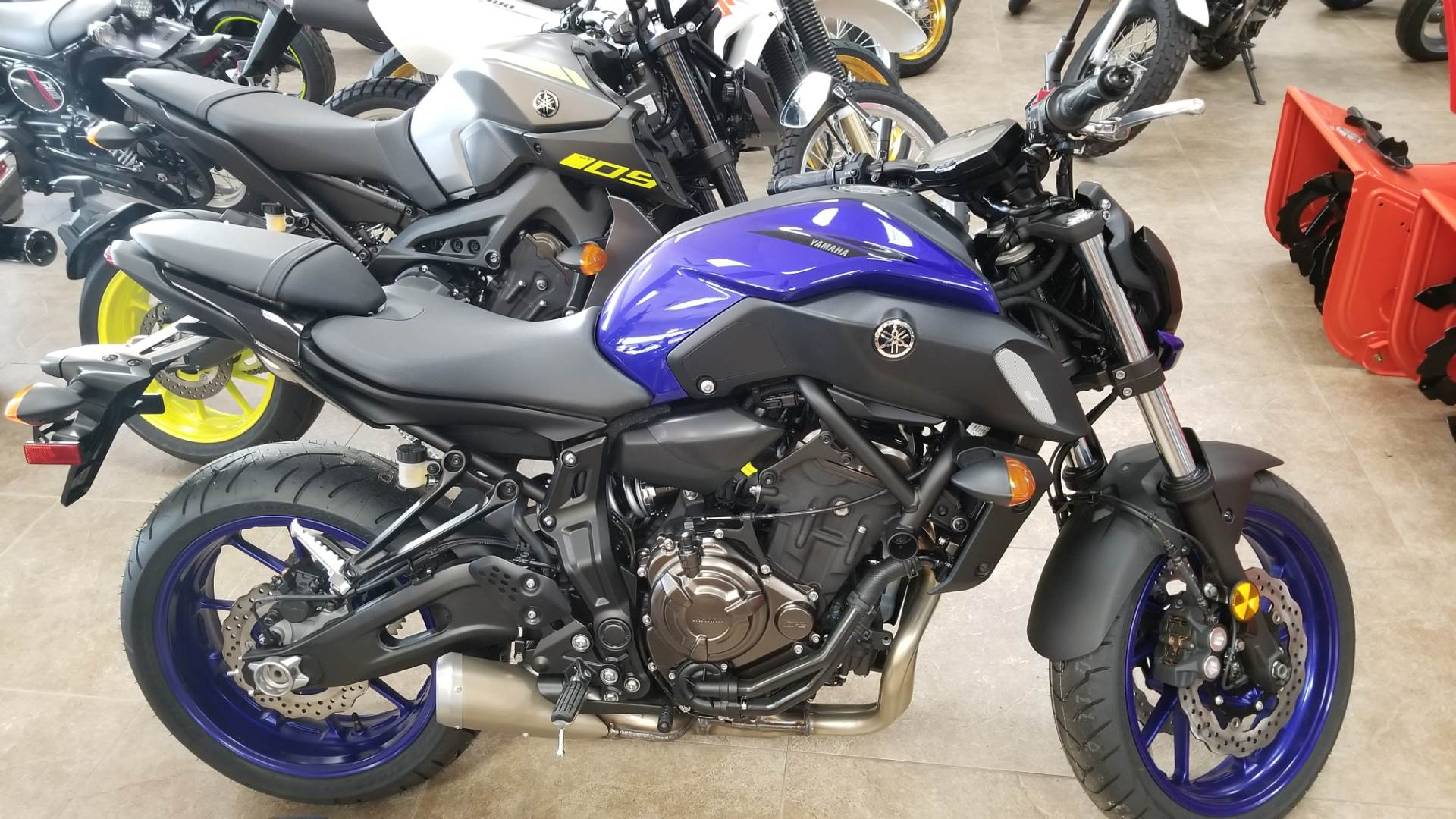 2018 Yamaha MT-07 in Mineola, New York