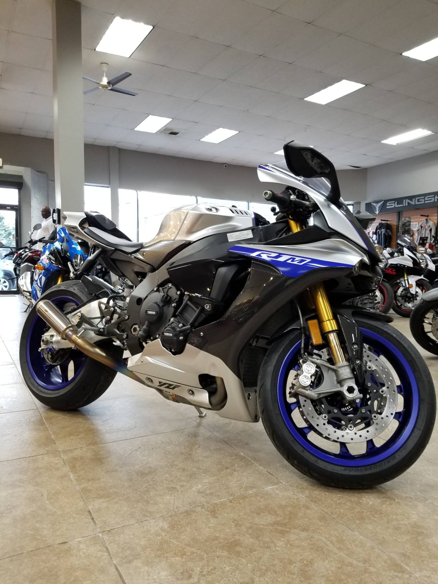 2017 Yamaha YZF-R1M in Mineola, New York - Photo 1