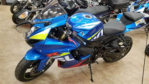 2016 Suzuki GSX-R750 in Mineola, New York