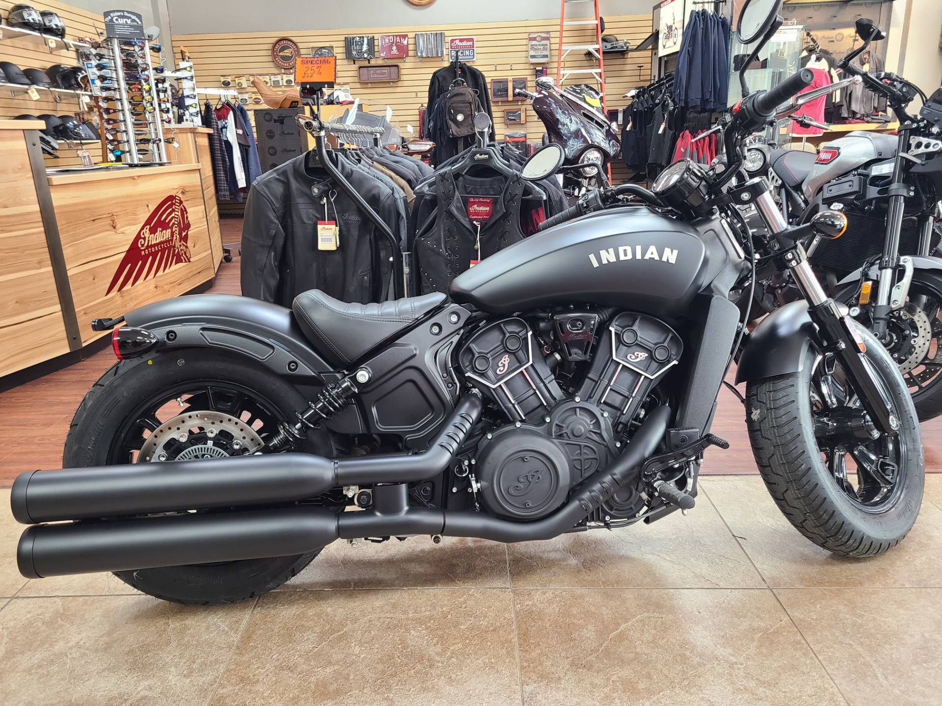 2021 Indian Scout® Bobber Sixty ABS in Mineola, New York
