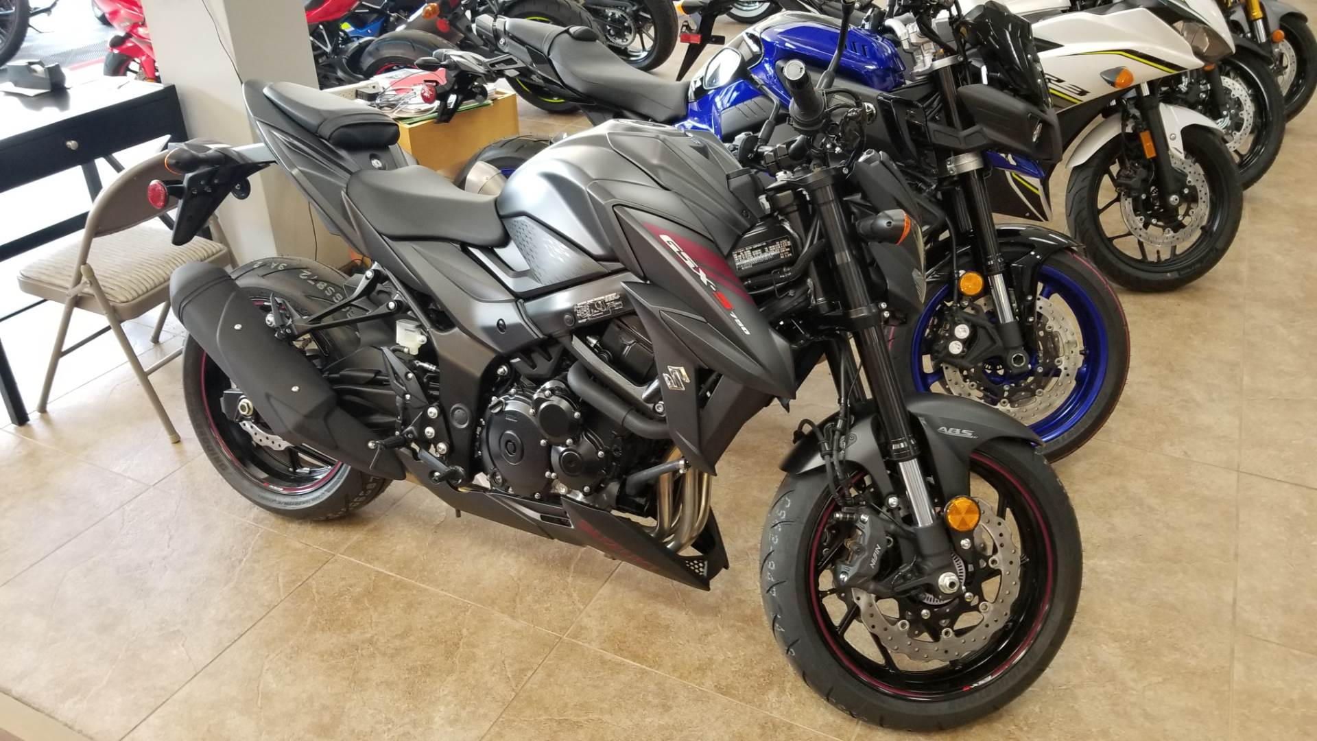 2018 Suzuki GSX-S750Z in Mineola, New York