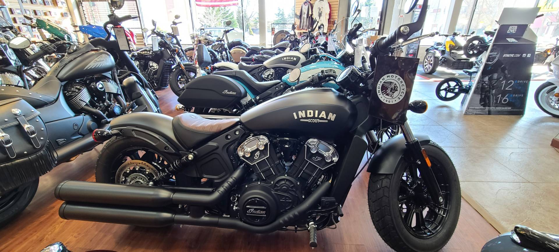 2021 Indian Scout® Bobber ABS in Mineola, New York - Photo 1