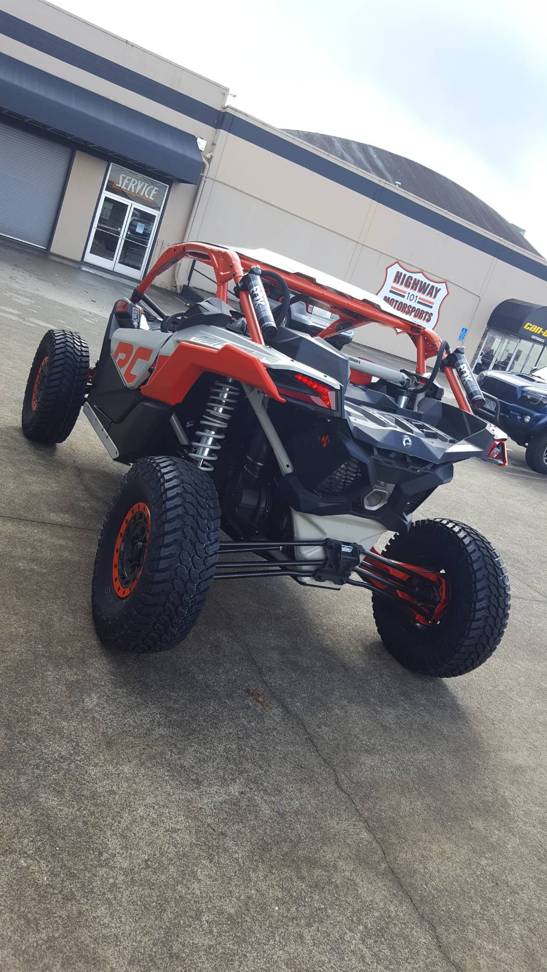 2021 Can-Am Maverick X3 X RC Turbo RR in Coos Bay, Oregon - Photo 4