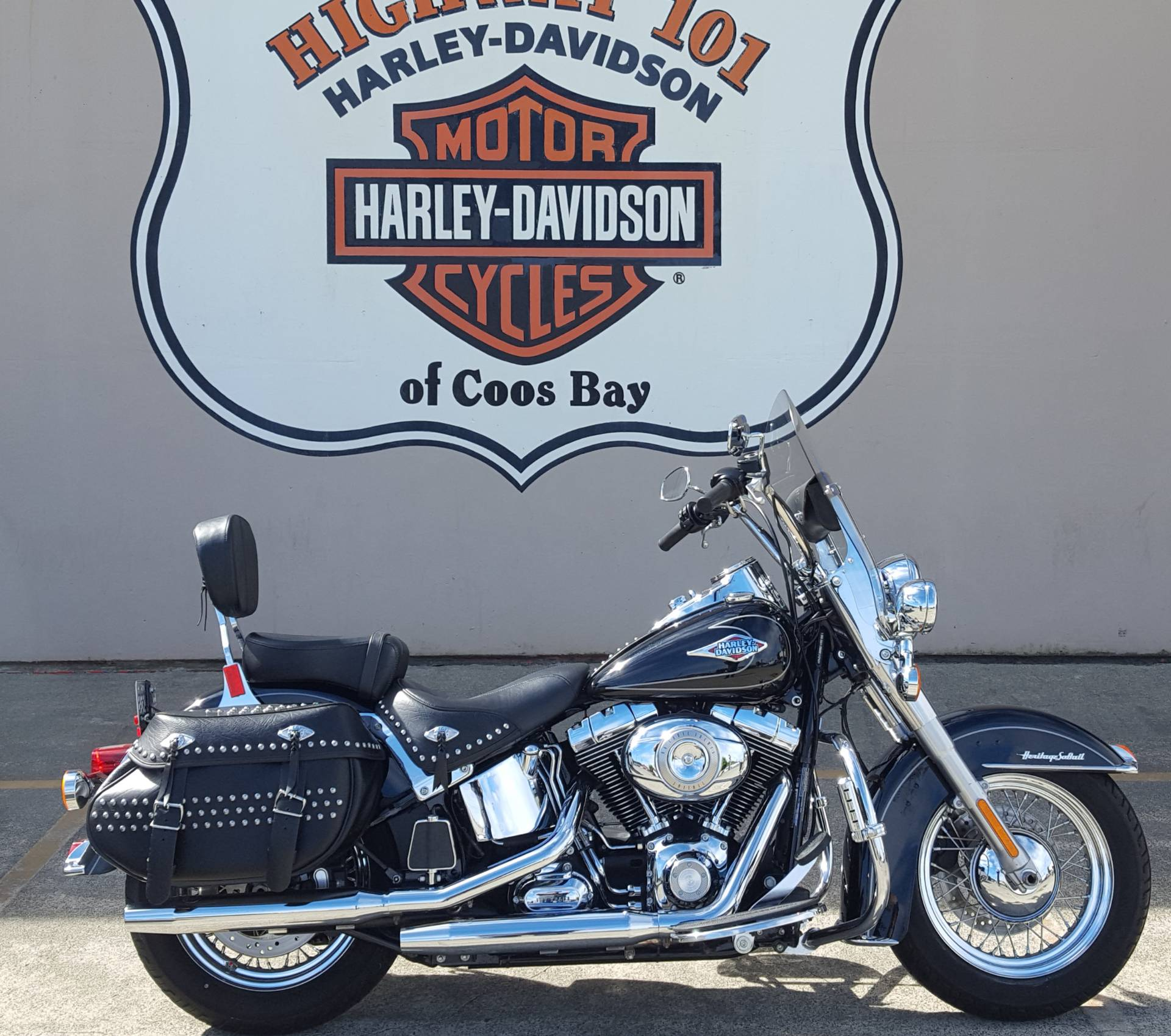 2011 Harley-Davidson Heritage Softail® Classic in Coos Bay, Oregon - Photo 1