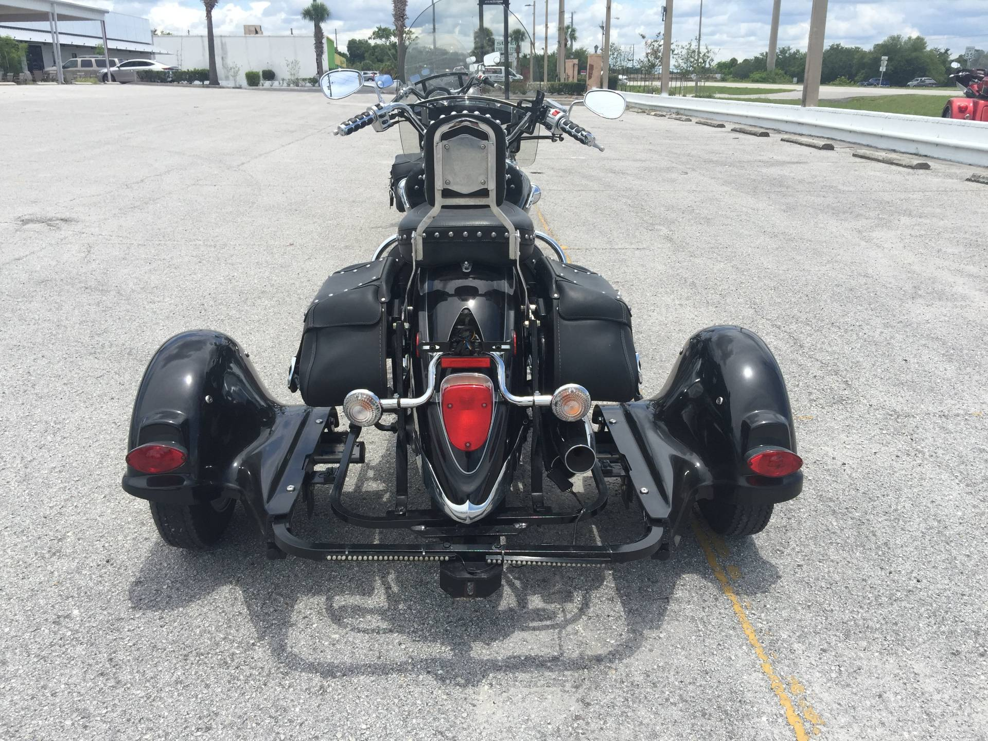 2008 Yamaha V-STAR 1100 SILVERADO WITH VOYAGER TRIKE in Eustis, Florida