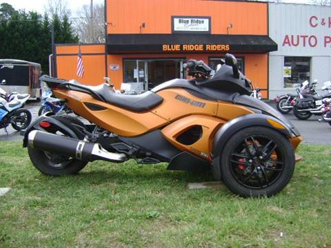 2011 Can-Am Spyder® RS-S SE5 in Asheville, North Carolina