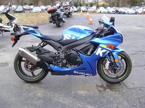 2015 Suzuki GSX-R600 in Asheville, North Carolina