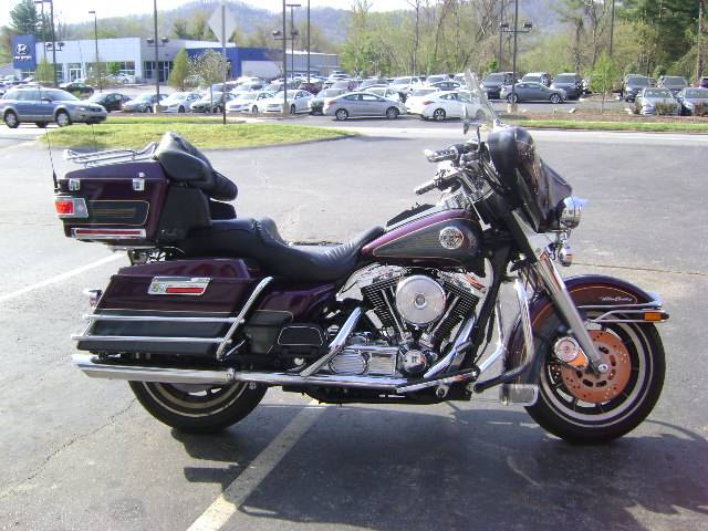 1997 ultra classic electra glide-purple and charcoal