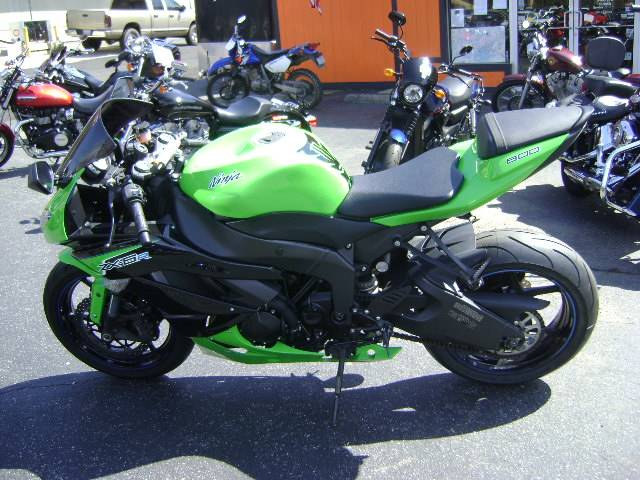 2012 Kawasaki Ninja® ZX™-6R in Asheville, North Carolina