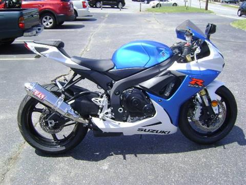 2013 Suzuki GSX-R750™ in Asheville, North Carolina