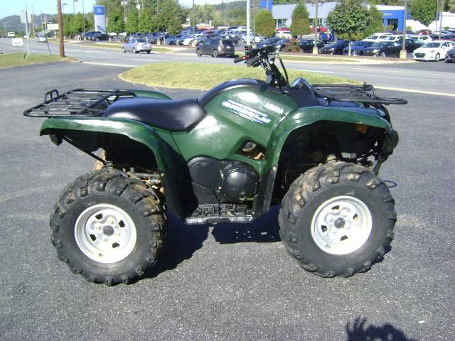 2011 Yamaha Grizzly 550 FI Auto. 4x4 EPS in Asheville, North Carolina