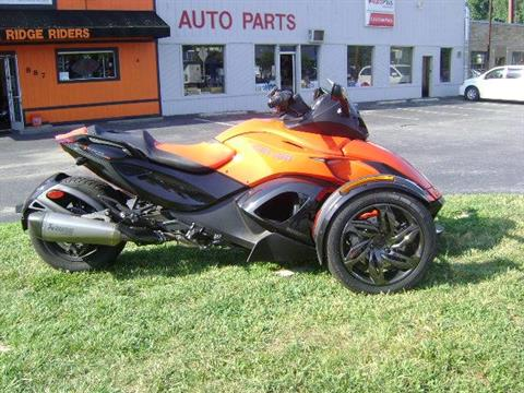 2016 Can-Am Spyder RS-S SM5 in Asheville, North Carolina