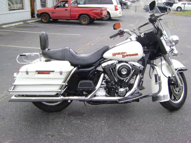 used 1995 harley-davidson police electra glide motorcycles in