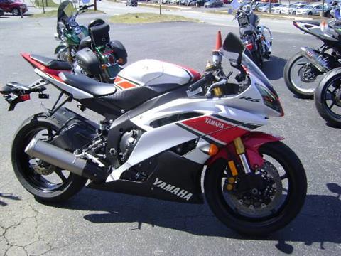 2012 Yamaha YZF-R6 World GP 50th Anniversary Edition in Asheville, North Carolina