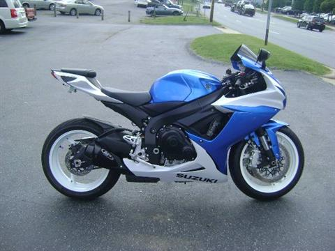 2013 Suzuki GSX-R600™ in Asheville, North Carolina