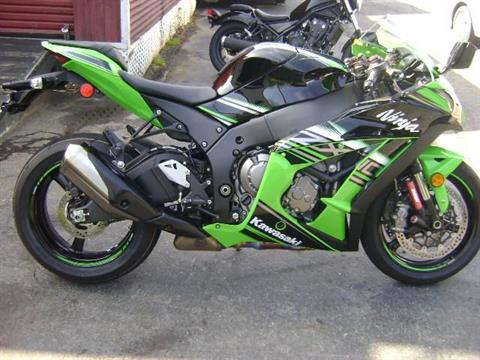 2016 Kawasaki Ninja ZX-10R ABS KRT Edition in Asheville, North Carolina