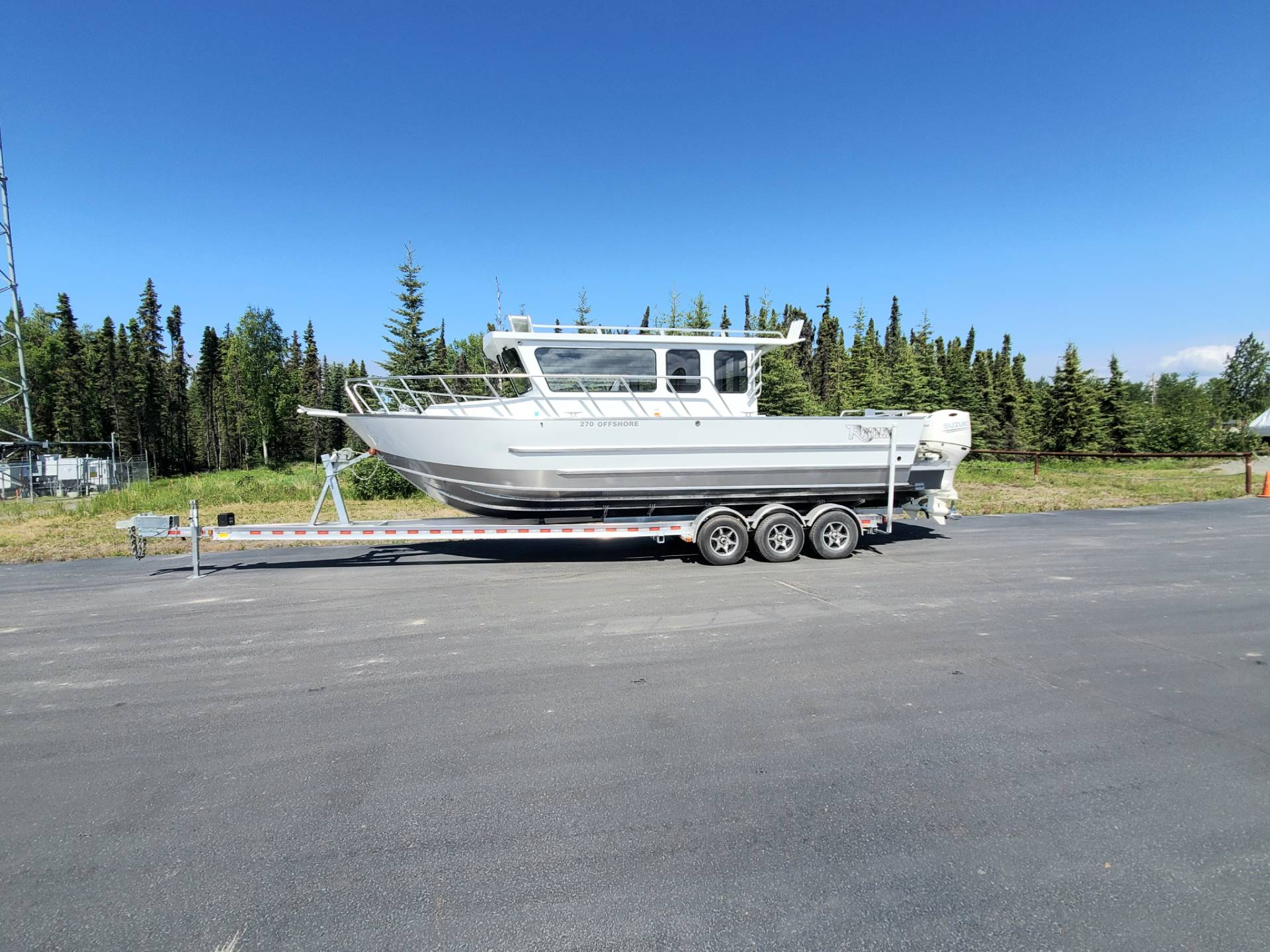 "2020 Raider Boats 27 Offshore ""SOLD"" in Soldotna, Alaska - Photo 2"