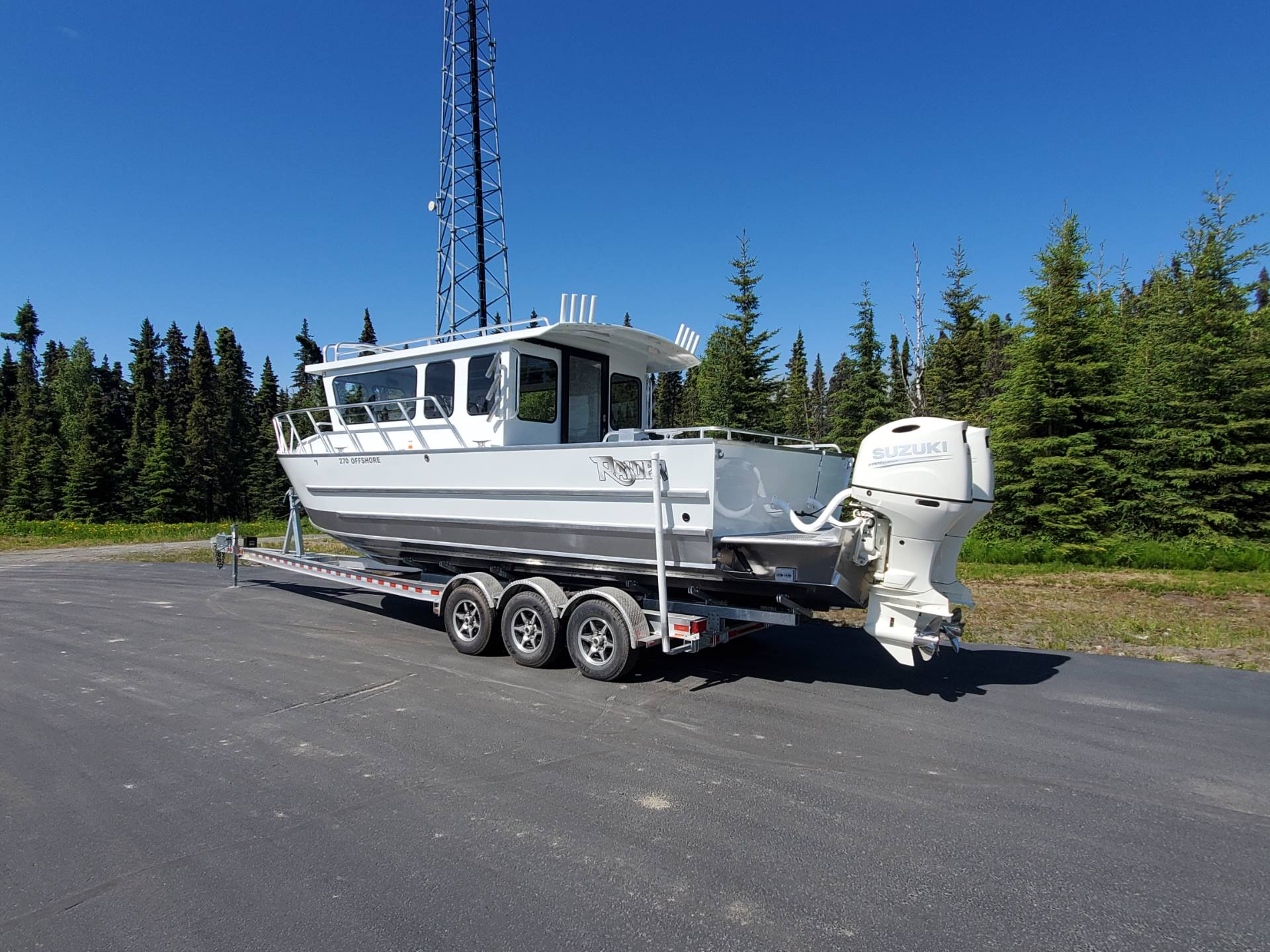 "2020 Raider Boats 27 Offshore ""SOLD"" in Soldotna, Alaska - Photo 3"