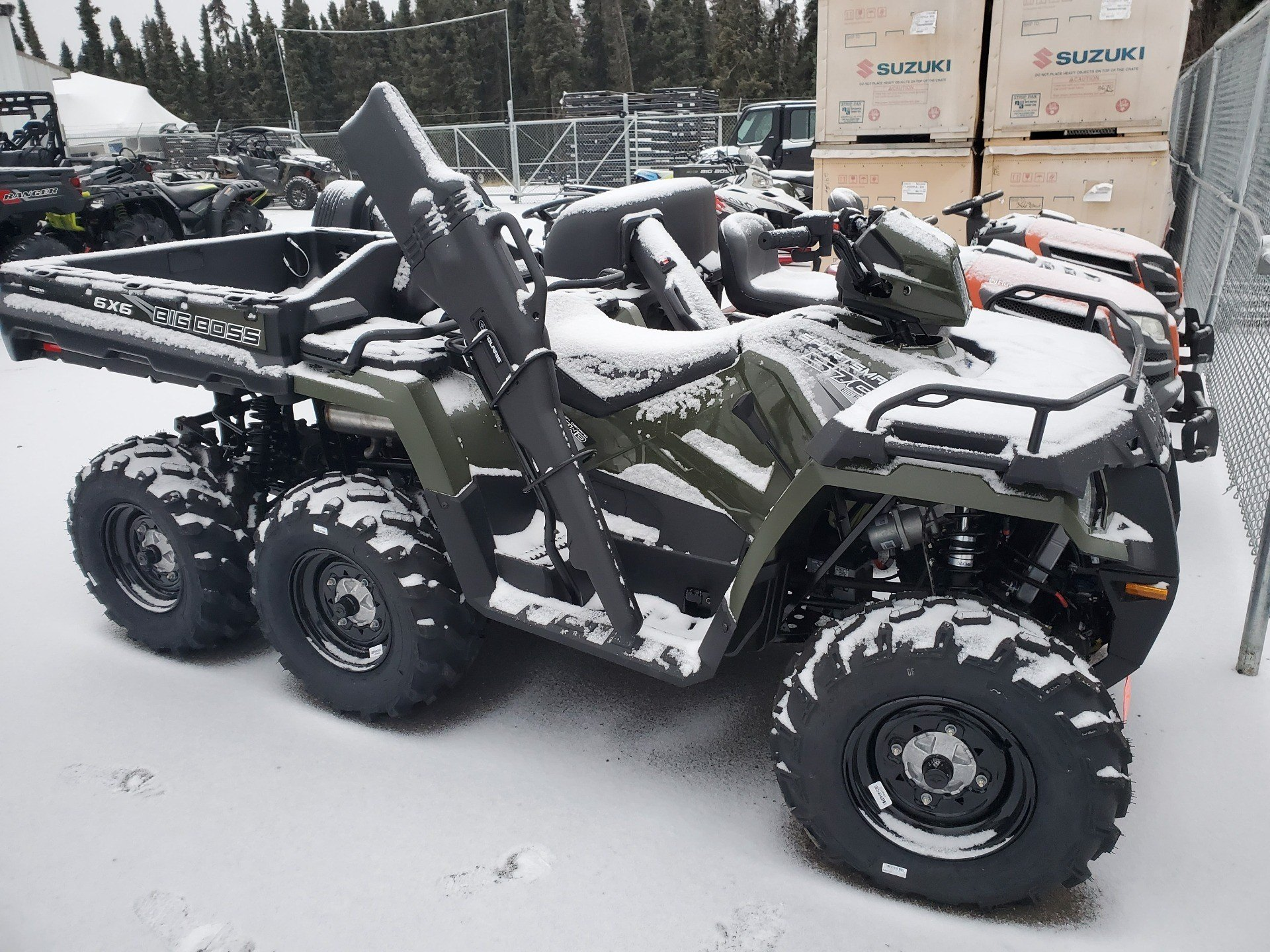 2019 Polaris Sportsman 6x6 Big Boss 570 EPS in Soldotna, Alaska - Photo 1
