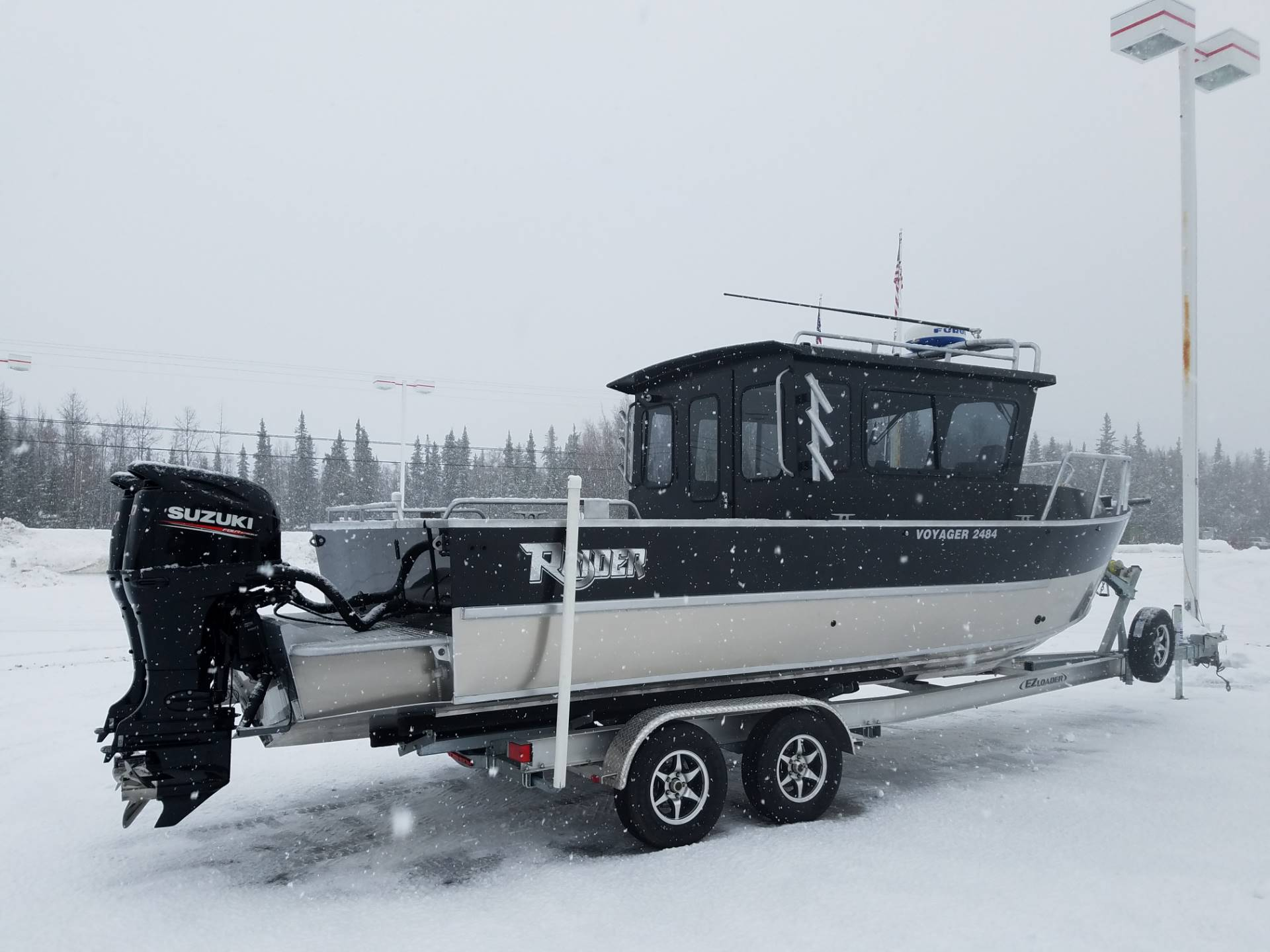 "2020 Raider Boats 2484 Voyager  "" SOLD"" in Soldotna, Alaska"