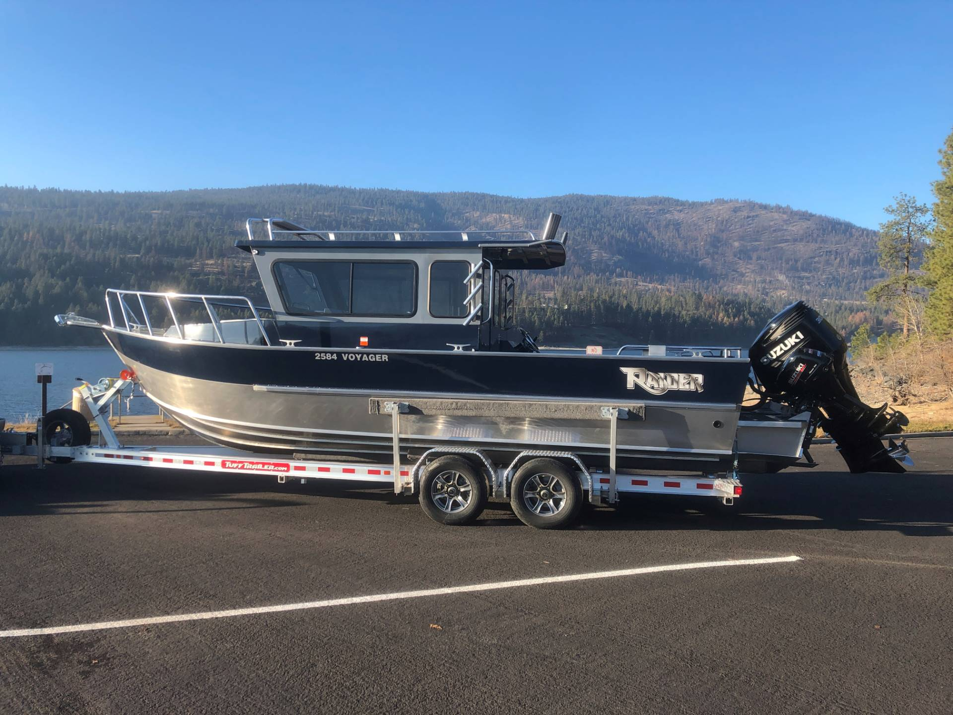 "2020 Raider Boats 2584 Voyager ""SOLD"" in Soldotna, Alaska"