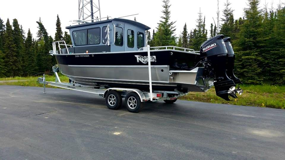 2020 Raider Boats 2484 Voyager SOLD!!!!! in Soldotna, Alaska - Photo 2