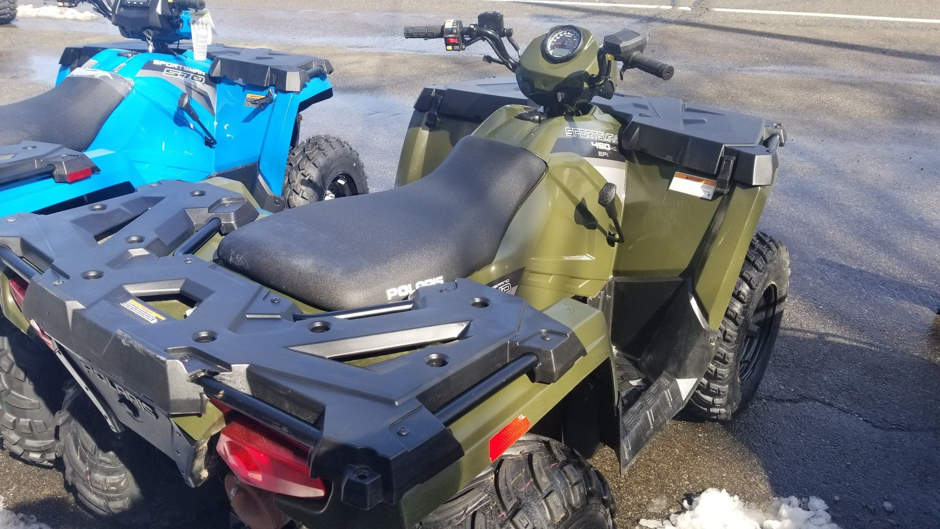 2016 Polaris Sportsman 450 H.O. in Ledgewood, New Jersey - Photo 6