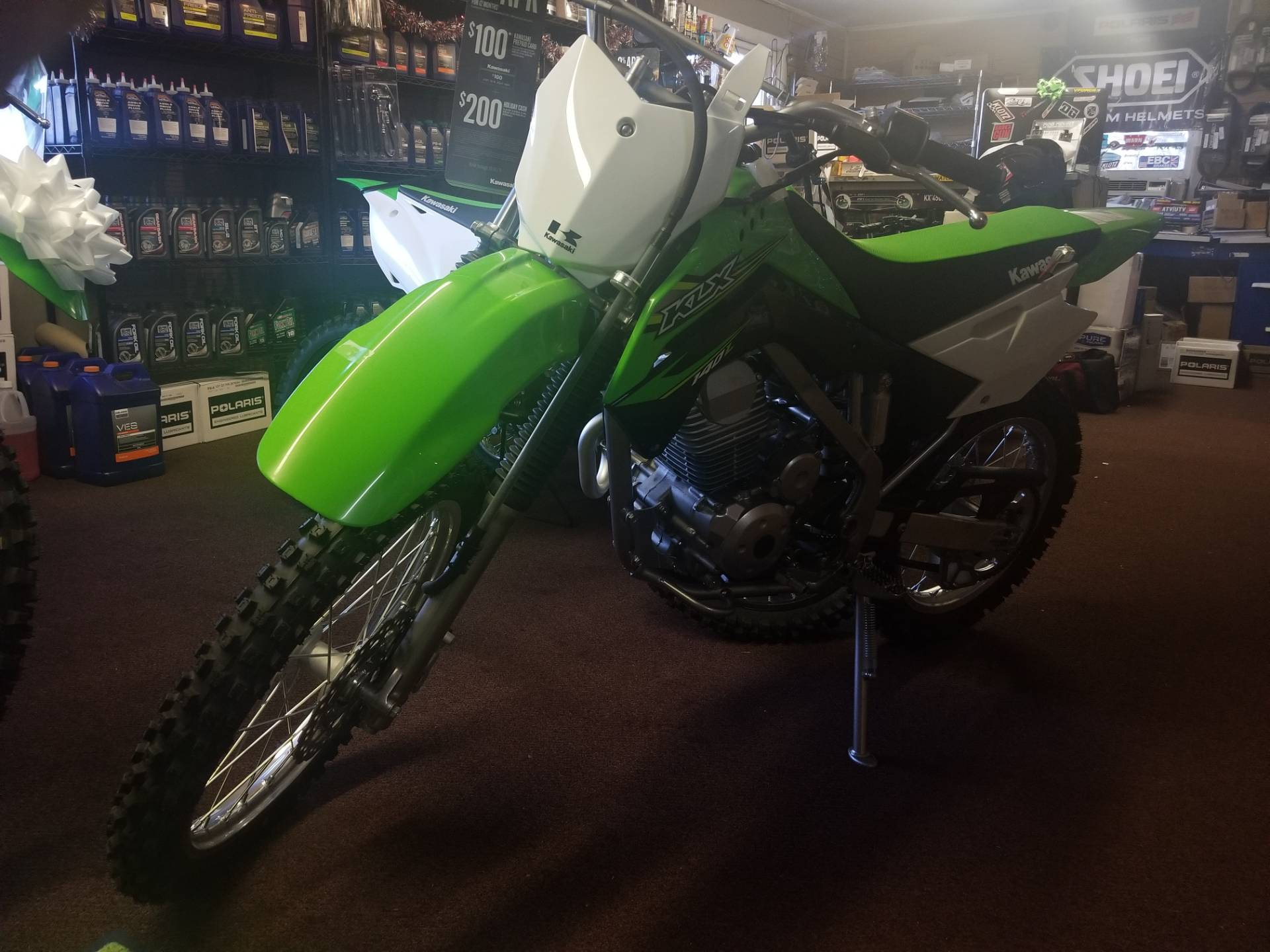 2018 Kawasaki KLX 140L for sale 4587