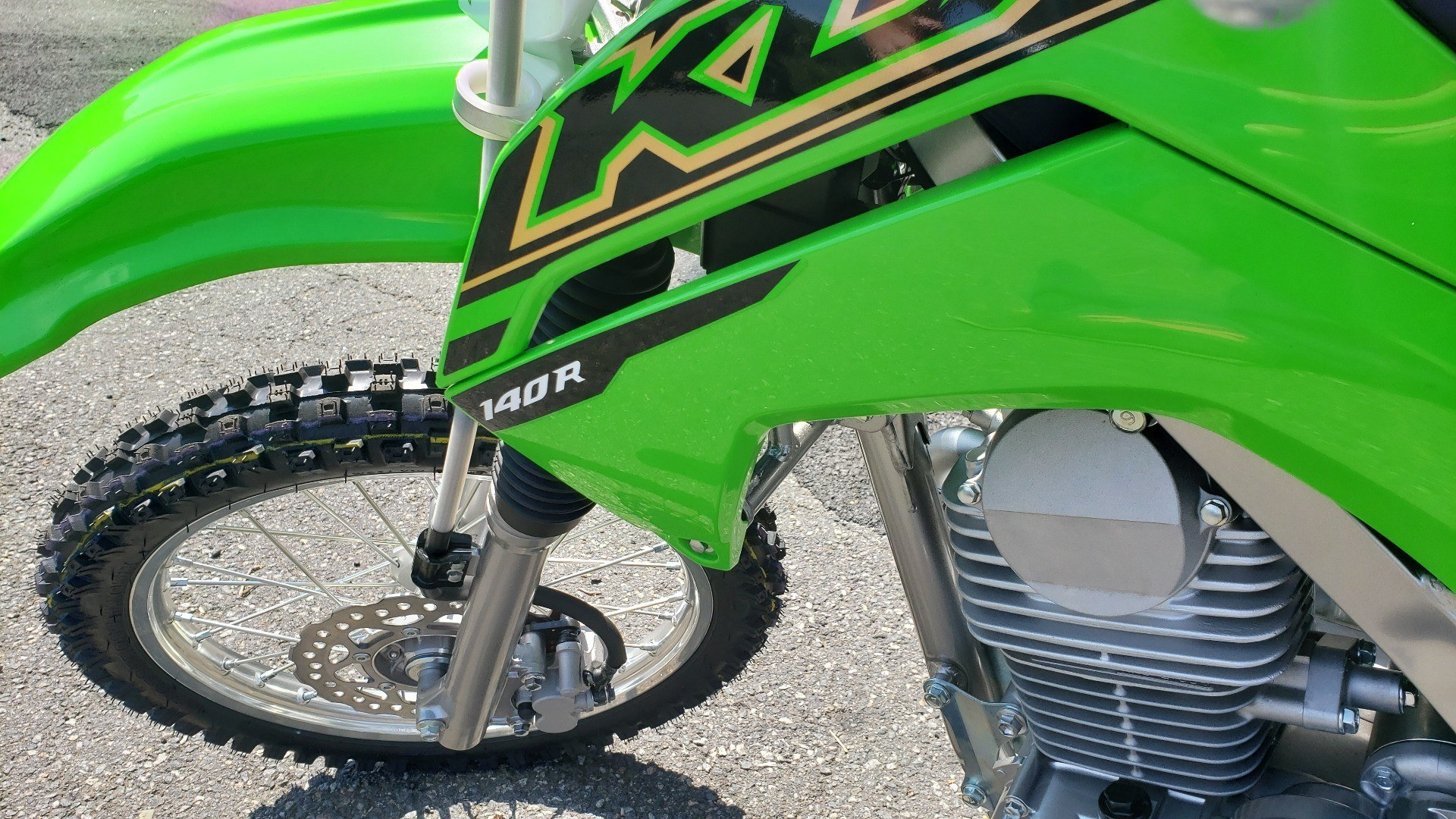 2021 Kawasaki KLX 140R in Ledgewood, New Jersey - Photo 2