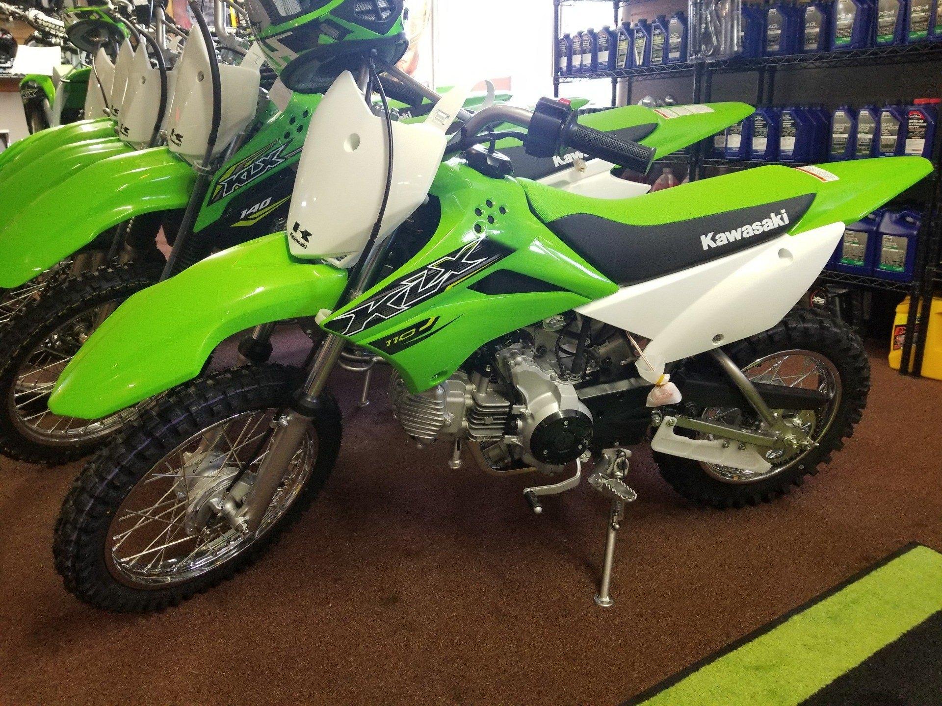 New 2019 Kawasaki KLX 110 Motorcycles in Ledgewood, NJ