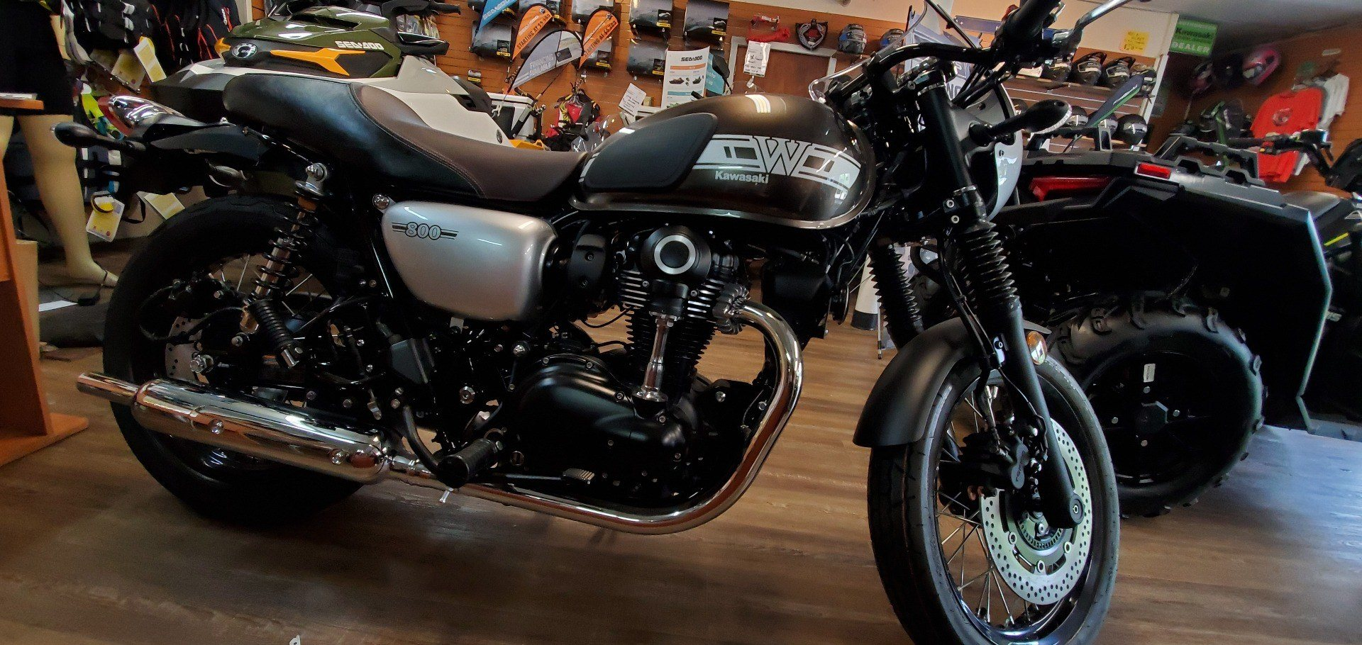 2019 Kawasaki W800 Cafe in Ledgewood, New Jersey - Photo 5