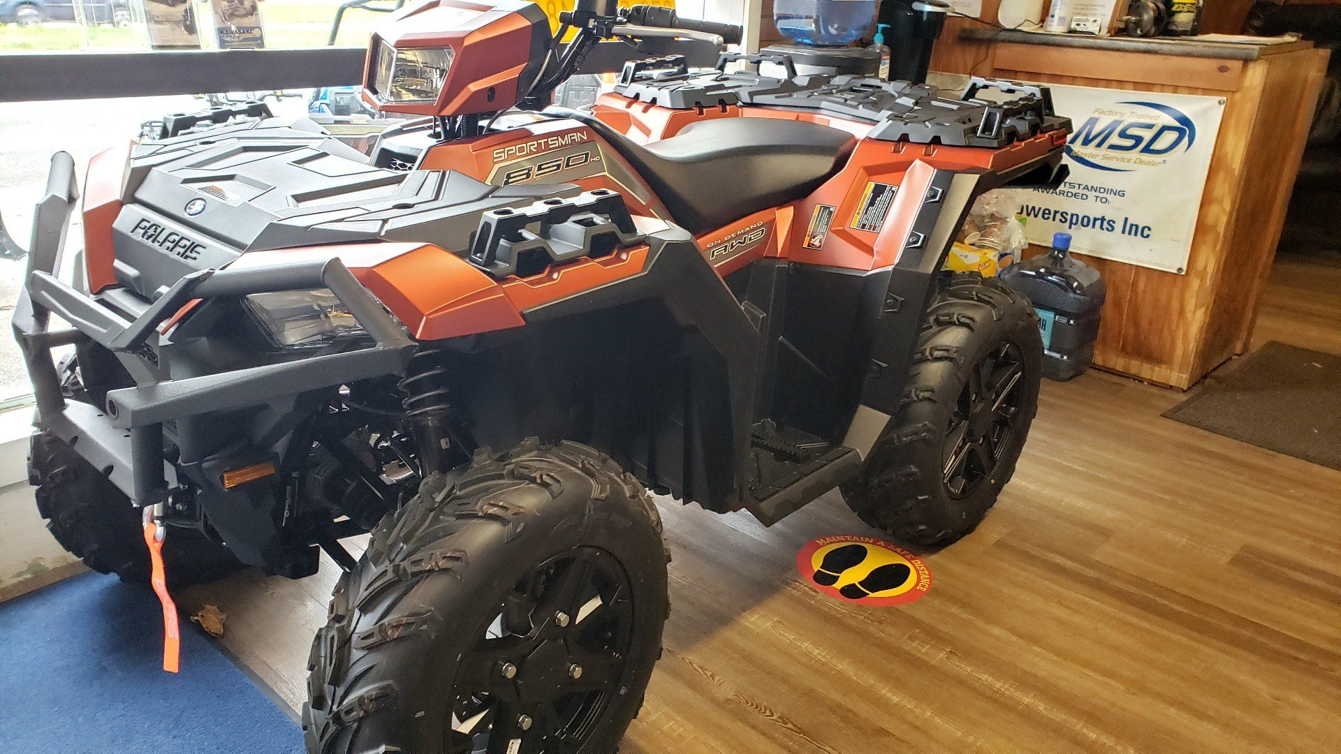 2021 Polaris Sportsman 850 Premium Trail Package in Ledgewood, New Jersey - Photo 1