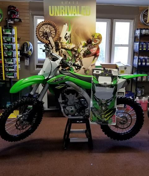 2018 Kawasaki KX 450F in Ledgewood, New Jersey