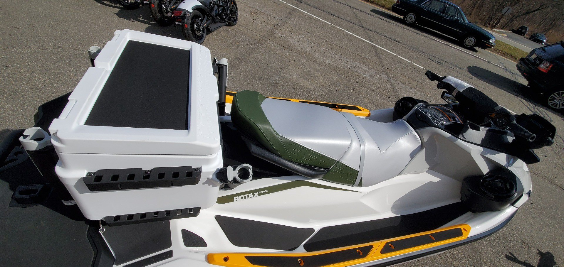 2019 Sea-Doo Fish Pro iBR + Sound System in Ledgewood, New Jersey - Photo 8