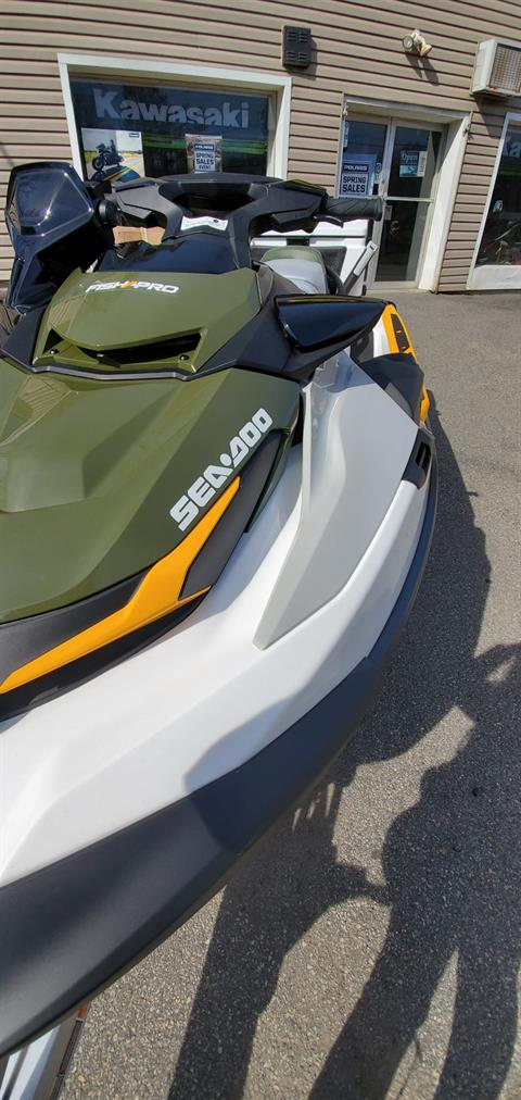 2019 Sea-Doo Fish Pro iBR + Sound System in Ledgewood, New Jersey - Photo 10
