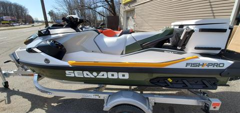 2019 Sea-Doo Fish Pro iBR + Sound System in Ledgewood, New Jersey - Photo 2