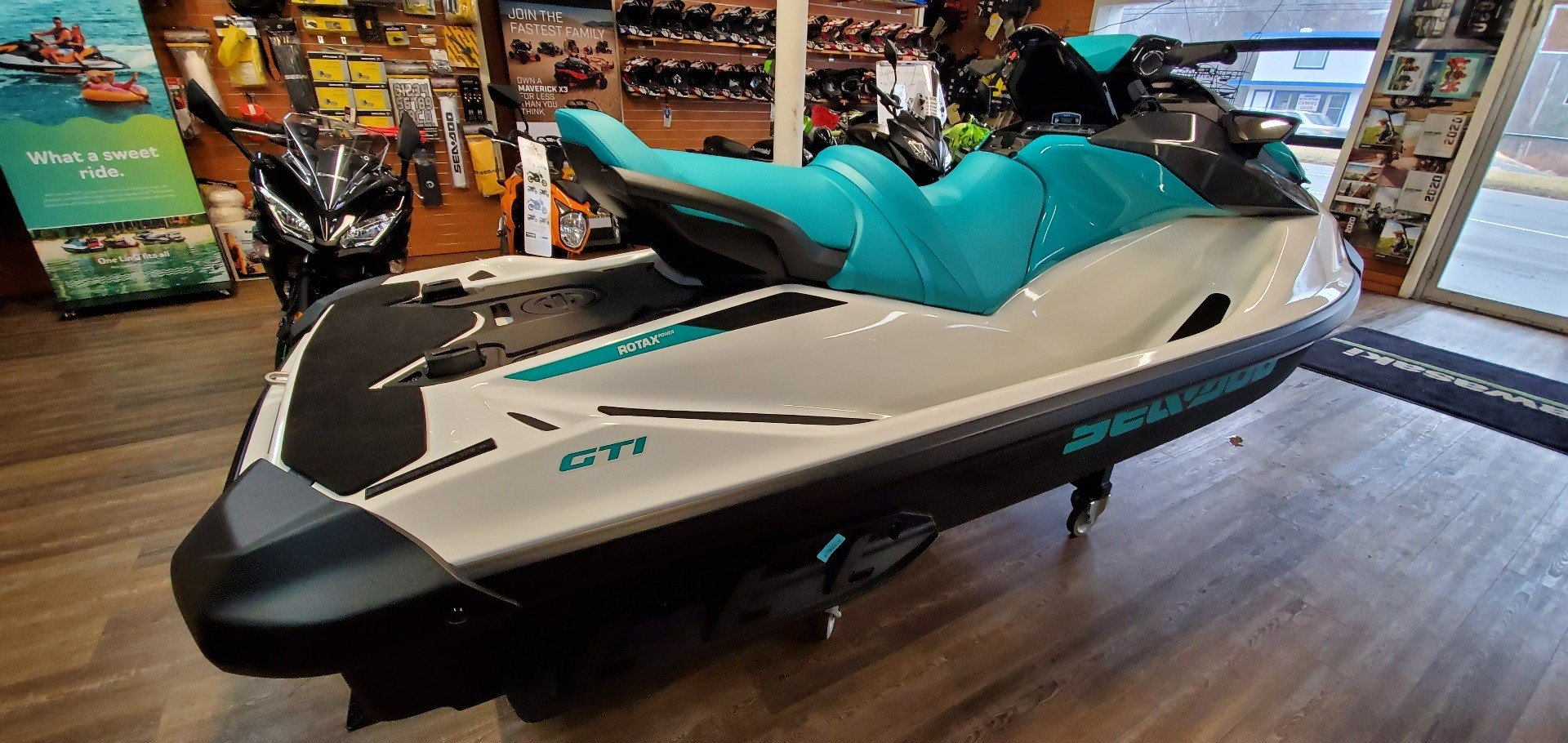 2020 Sea-Doo GTI 130 iBR in Ledgewood, New Jersey - Photo 3