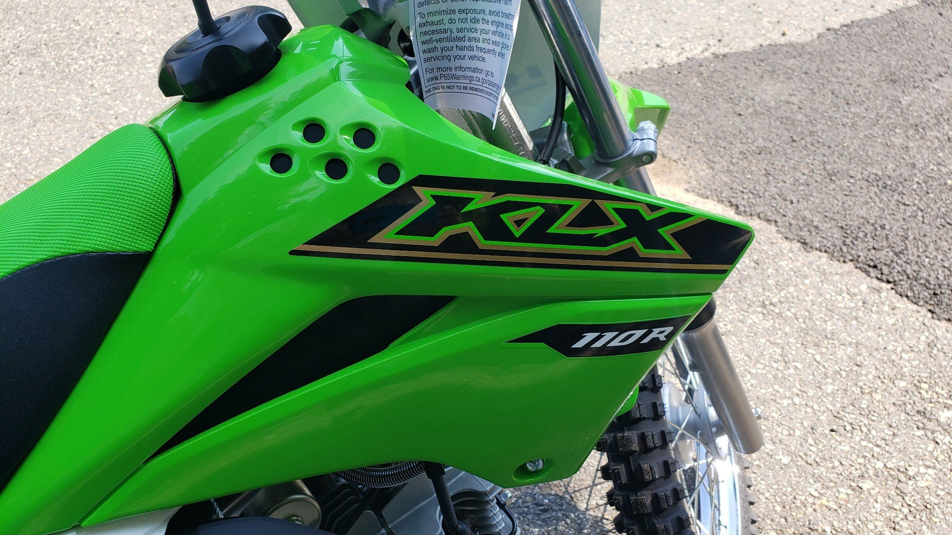 2021 Kawasaki KLX 110R L in Ledgewood, New Jersey - Photo 4