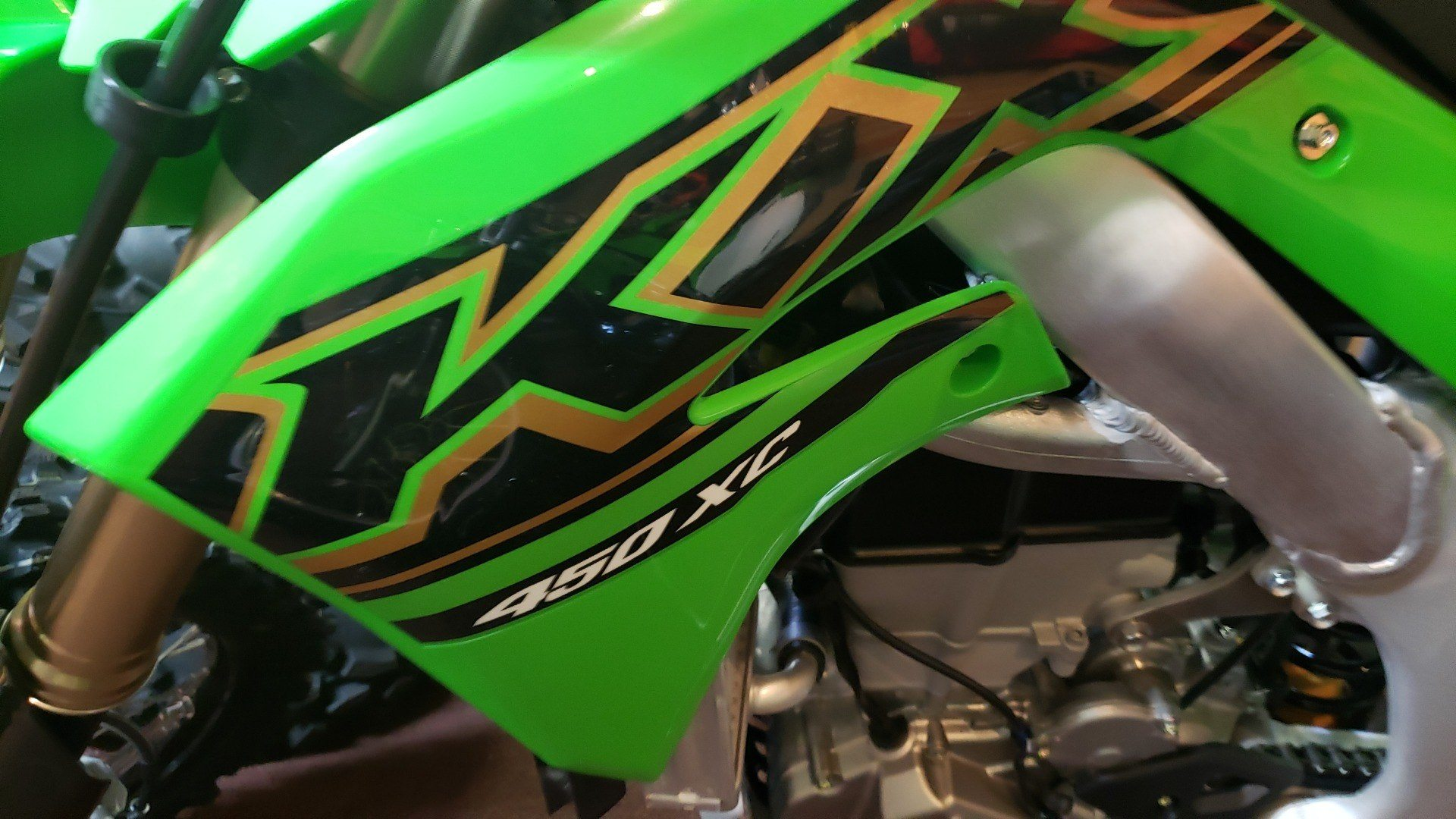 2021 Kawasaki KX 450X in Ledgewood, New Jersey - Photo 2