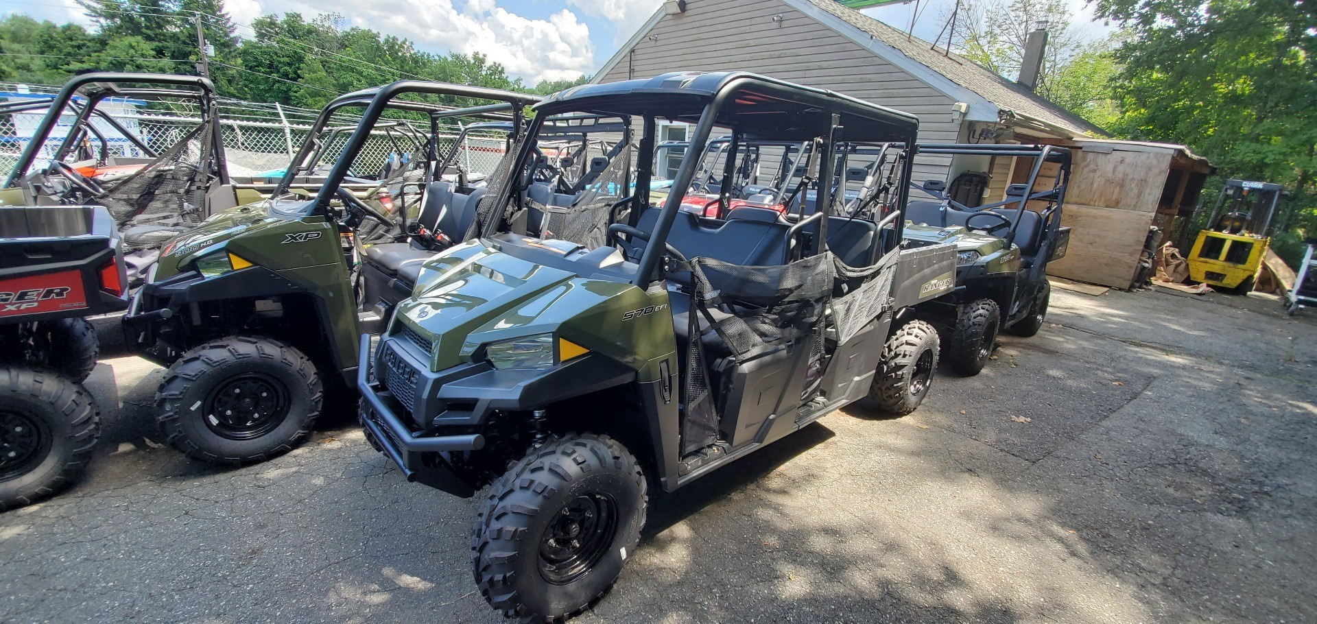 2019 Polaris Ranger Crew 570-4 in Ledgewood, New Jersey - Photo 2
