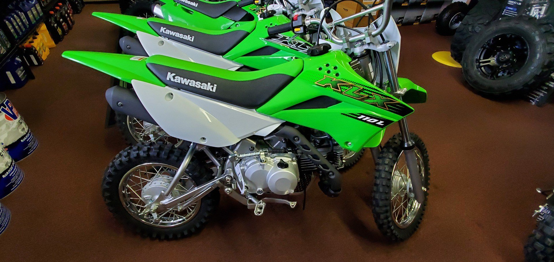 2020 Kawasaki KLX 110L in Ledgewood, New Jersey - Photo 1