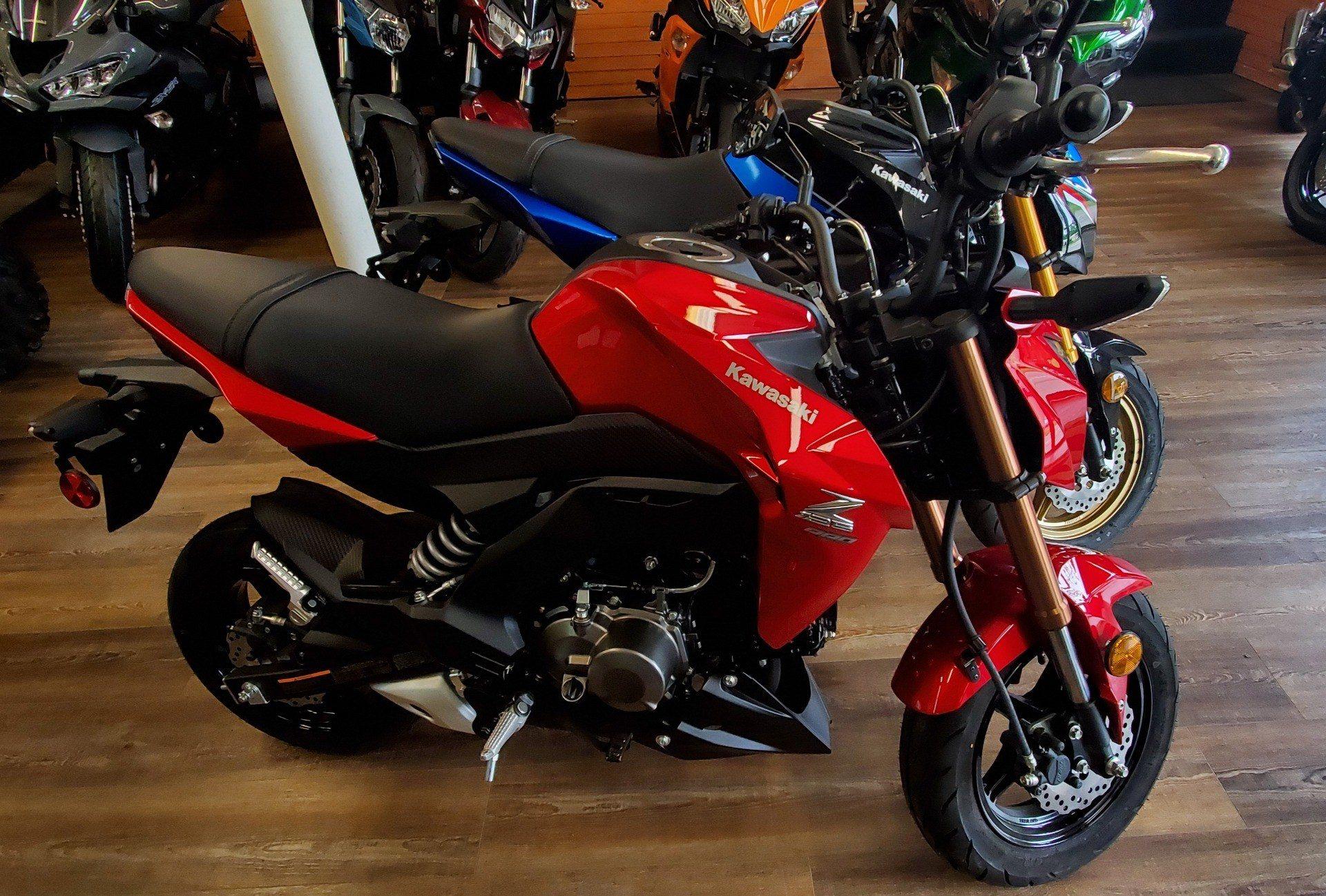 2018 Kawasaki Z125 Pro in Ledgewood, New Jersey