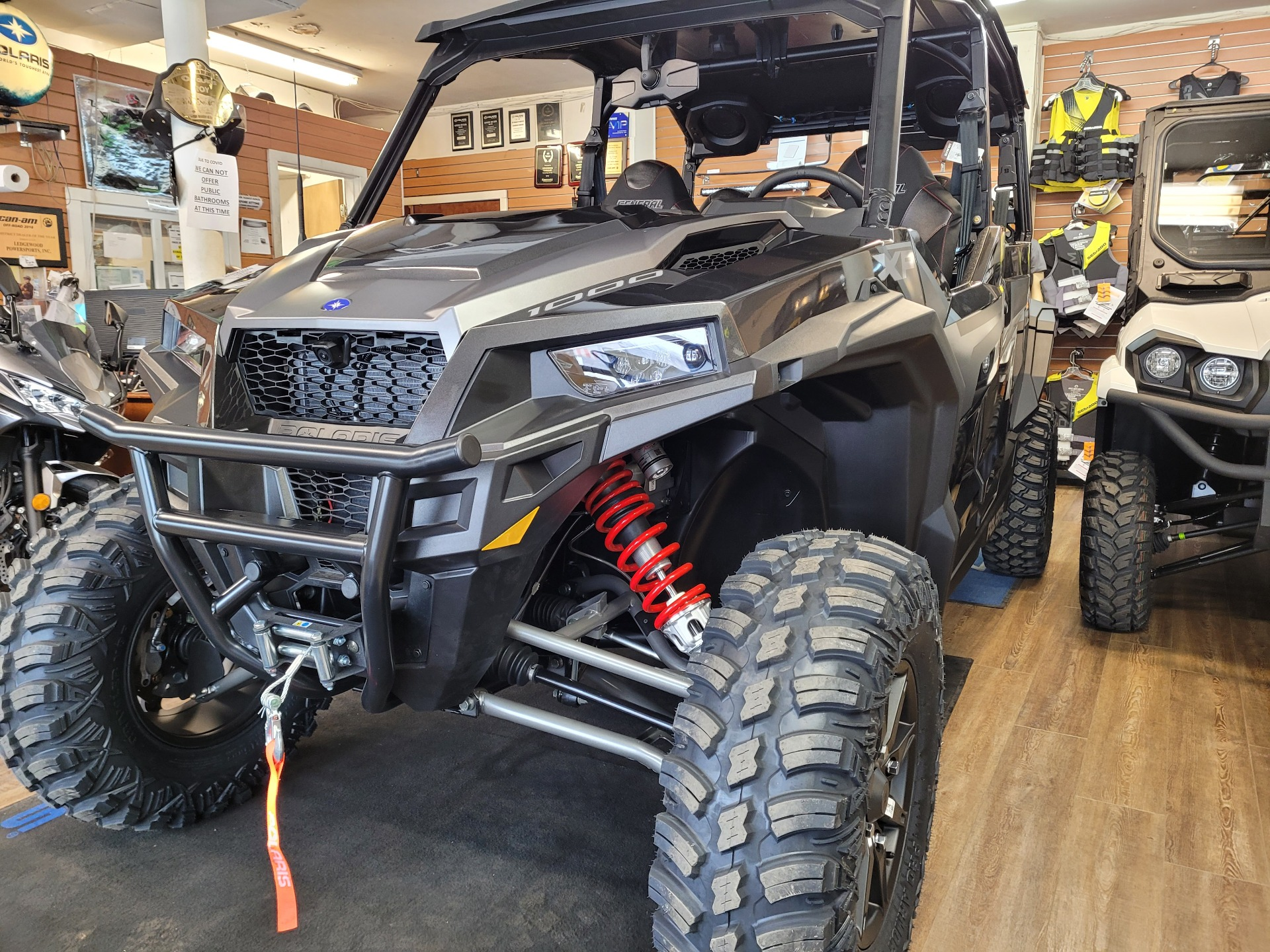 2021 Polaris General XP 4 1000 Deluxe Ride Command in Ledgewood, New Jersey - Photo 2