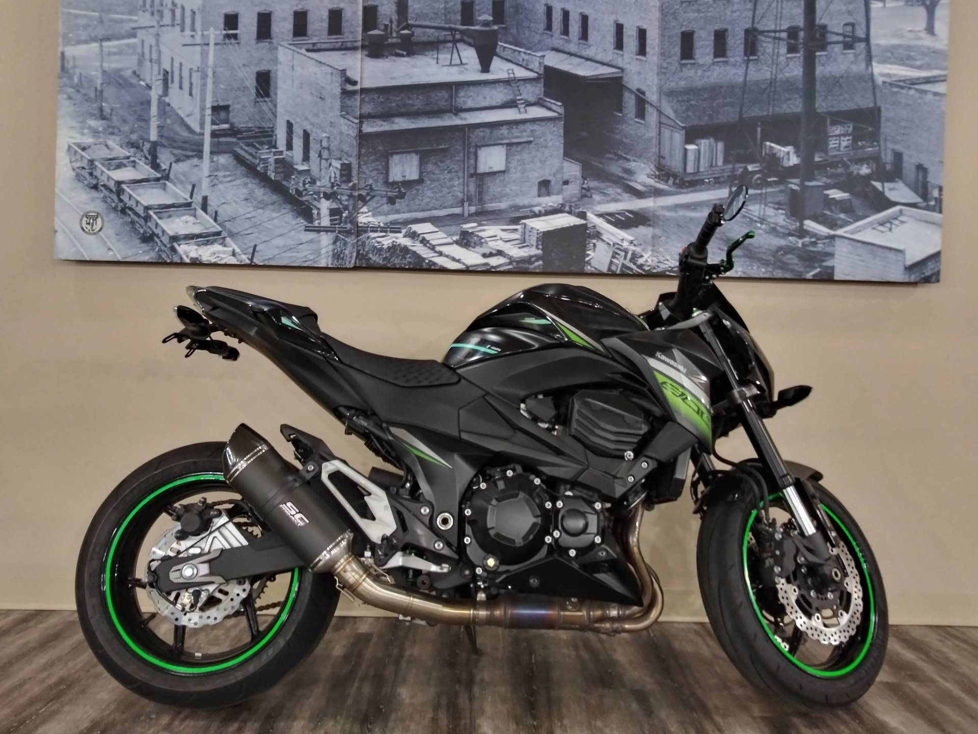 2016 Kawasaki Z800 ABS in Knoxville, Tennessee - Photo 1