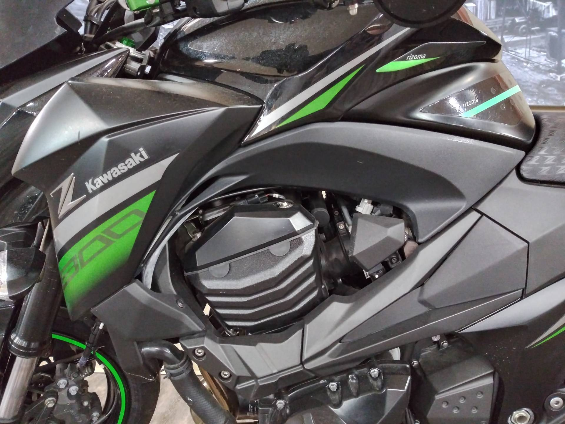 2016 Kawasaki Z800 ABS in Knoxville, Tennessee - Photo 13