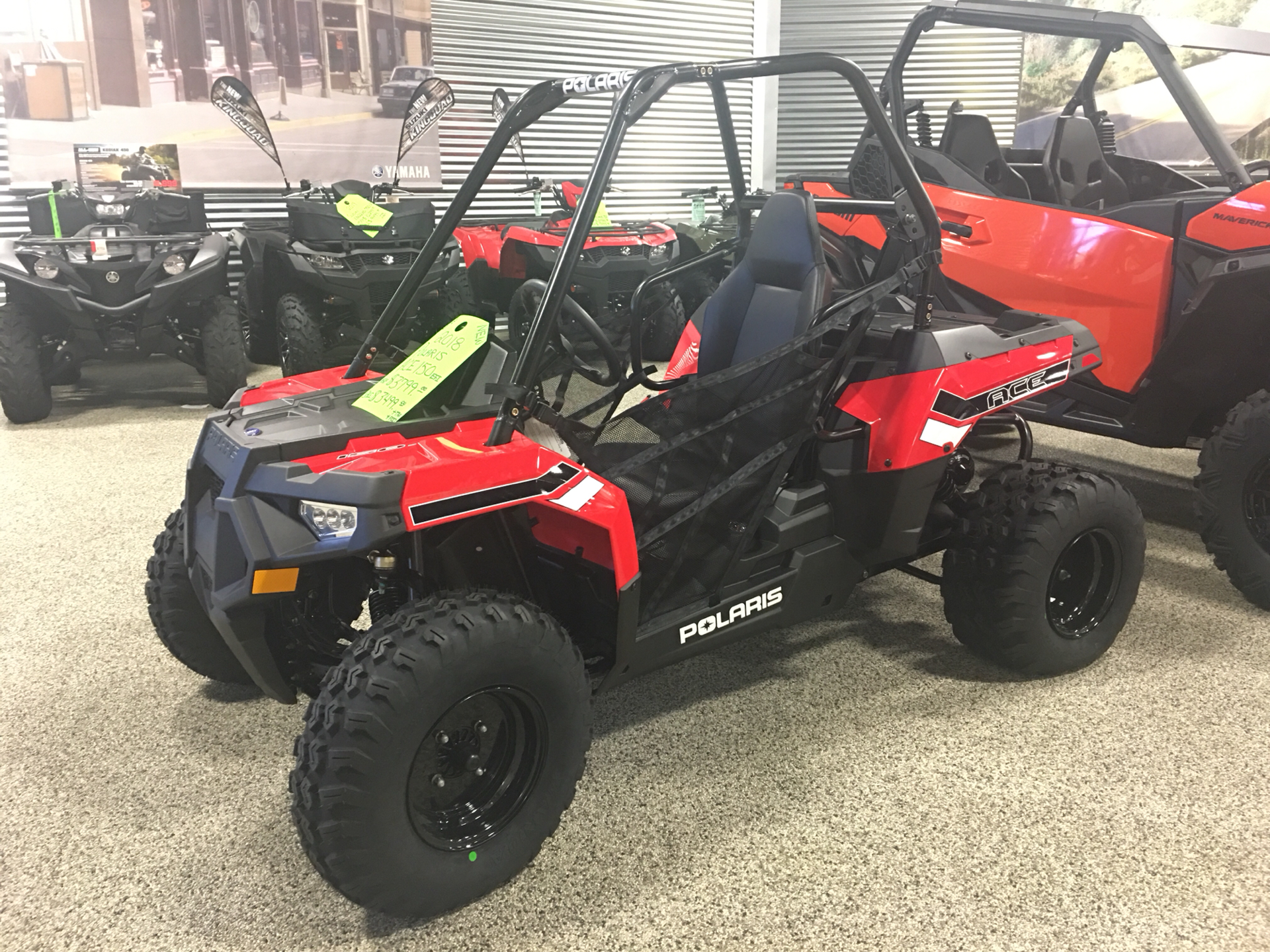 2018 Polaris Ace 150 EFI in Olive Branch, Mississippi